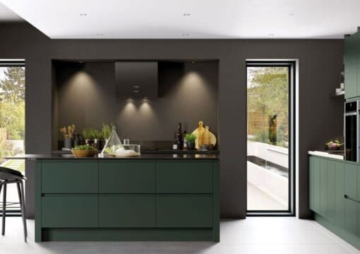 Siddington Painted Matte Deep Forest, Cameo 1 - by Riley James Kitchens, Gloucestershire