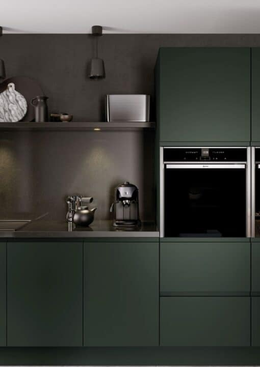 Siddington Painted Matte Deep Forest, Cameo 6 - by Riley James Kitchens, Gloucestershire