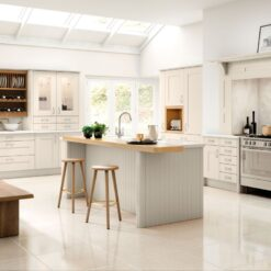 Tewkesbury shaker Kitchen - Cashmere, from Riley James Kitchens Gloucestershire