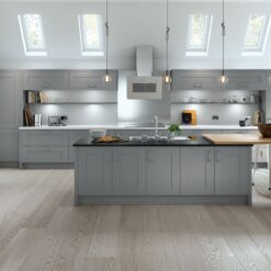 Tewkesbury shaker Kitchen - Dust Grey, from Riley James Kitchens Gloucestershire