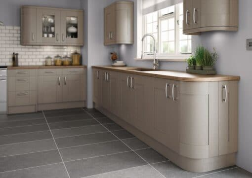 Tewkesbury shaker Kitchen - Painted Brown Grey, from Riley James Kitchens Gloucestershire