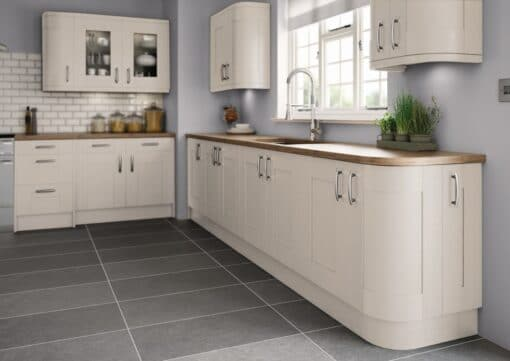 Tewkesbury shaker Kitchen - Painted Cashmere, from Riley James Kitchens Gloucestershire