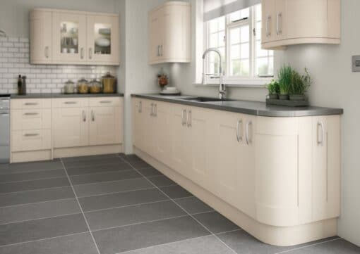 Tewkesbury shaker Kitchen - Painted Chalkstone, from Riley James Kitchens Gloucestershire