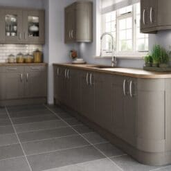 Tewkesbury shaker Kitchen - Painted Lava, from Riley James Kitchens Gloucestershire