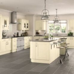 Tewkesbury shaker Kitchen - Painted Ivory, from Riley James Kitchens Gloucestershire