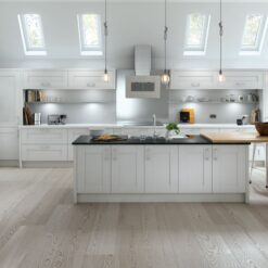 Tewkesbury shaker Kitchen - Light Grey, from Riley James Kitchens Gloucestershire