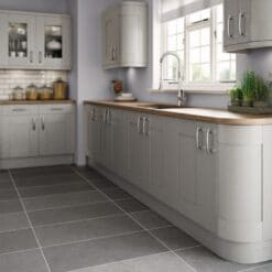 Tewkesbury shaker Kitchen - Silver, from Riley James Kitchens Gloucestershire