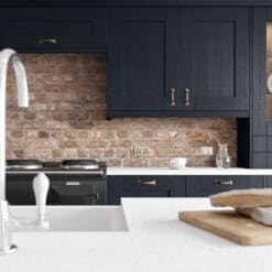 Tewkesbury shaker Kitchen - Indigo, from Riley James Kitchens Gloucestershire
