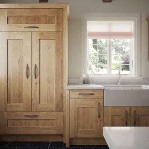 The Oakridge Kitchen, in Oak from Riley James Kitchens Gloucestershire