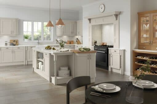 The Woodchester Kitchen, Taupe Grey - Riley James Kitchens, Gloucestershire