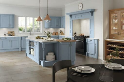 The Woodchester Kitchen, Denim - Riley James Kitchens, Gloucestershire