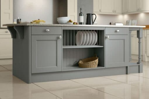 The Woodchester Kitchen, Dust Grey - Riley James Kitchens, Gloucestershire