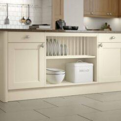The Woodchester Kitchen, Ivory & Oak - Riley James Kitchens, Gloucestershire