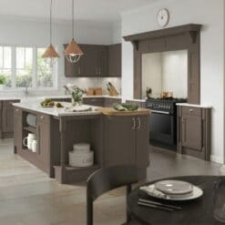 The Woodchester Kitchen, Lava - Riley James Kitchens, Gloucestershire