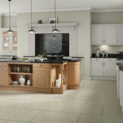 The Woodchester Kitchen, Light Grey - Riley James Kitchens, Gloucestershire