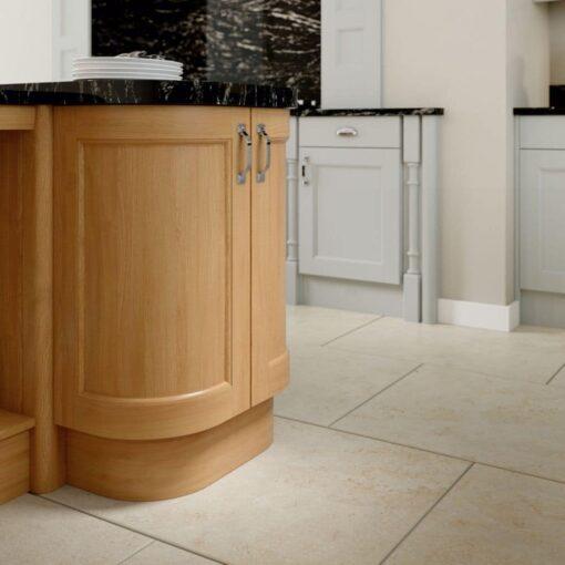 The Woodchester Kitchen, Light Grey & Oak- Riley James Kitchens, Gloucestershire