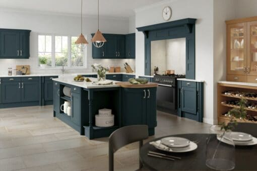 The Woodchester Kitchen, Midnight Blue - Riley James Kitchens, Gloucestershire