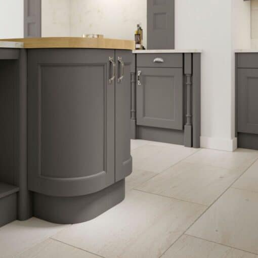 The Woodchester Kitchen, Painted Onyx Grey - Riley James Kitchens, Gloucestershire