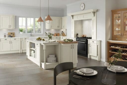 The Woodchester Kitchen, Painted Porcelain - Riley James Kitchens, Gloucestershire