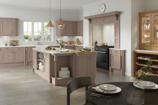 The Woodchester Kitchen, Painted Stone Grey - Riley James Kitchens, Gloucestershire