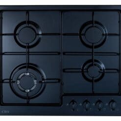CDA HG6251BL Gas Hob - available from Riley James Kitchens, Gloucestershire