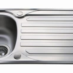 CDA KA21SS Sink - available from Riley James Kitchens, Gloucestershire