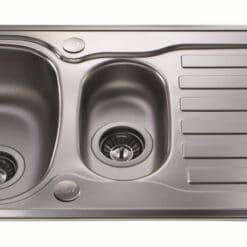 CDA KA22SS Sink - available from Riley James Kitchens, Gloucestershire
